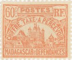 Front: Rova: 60-Centime Postage Stamp