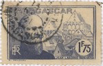 Front: Jean Laborde: 1.75-Franc Postage St...
