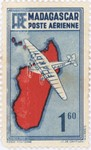 Mailplane: 1.60-Franc Postage Stamp