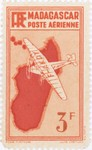 Mailplane: 3-Franc Postage Stamp