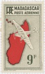Mailplane: 9-Franc Postage Stamp