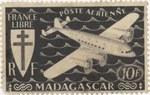 Mailplane: 10-Franc Postage Stamp