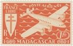 Mailplane: 1-Franc Postage Stamp