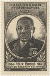 F�lix Ebou�: 2-Franc Postage Stamp