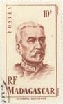 General Duchesne: 10-Franc Postage Stamp