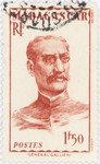 General Gallieni: 1.50-Franc Postage Stamp