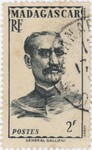 General Gallieni: 2-Franc Postage Stamp