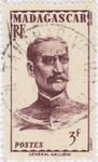General Gallieni: 3-Franc Postage Stamp