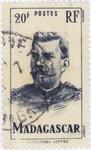 Lieutenant-Colonel Joffre: 20-Franc Postage Stamp