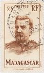 Lieutenant-Colonel Joffre: 25-Franc Postage Stamp
