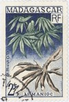 Front: Manioc: 2-Franc Postage Stamp