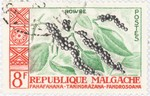 Black Pepper: 8-Franc Postage Stamp