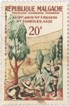 National Reforestation Duty: 20-Franc Postage Stamp