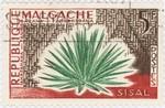 Front: Sisal: 5-Franc Postage Stamp