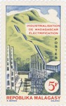 Industrialisation: Electrification: 5-Franc Postage Stamp