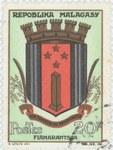 Fianarantsoa Coat-of-Arms: 20-Franc Postage Stamp