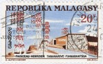 Microwave Transmissions Antananarivo-Fianarantsoa: 20-Franc Postage Stamp
