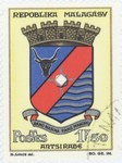 Front: Antsirabe Coat-of-Arms: 2-Franc Pos...