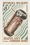 Hazolahy Drum: 8-Franc Postage Stamp