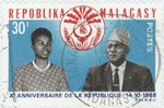 First Republic, 10th Anniversary: 30-Franc Postage Stamp