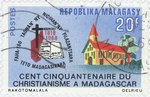 Sesquicentennial of Christianity in Madagascar: 20-Franc Postage Stamp