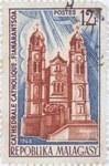 Fianarantsoa Catholic Cathedral: 12-Franc Postage Stamp