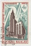 Isotry-Fitiavana Protestant Temple in Antananarivo: 4-Franc Postage Stamp