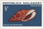 Volute delessertiana: 5-Franc Postage Stamp