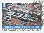 Joseph Ravoahangy Andrianavalona Hospital: 6-Franc Postage Stamp