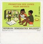 Books for Children: 10-Franc Postage Stamp