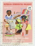 Books for Children: 25-Franc Postage Stamp