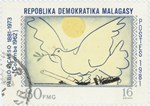 Front: Picasso's Dove: 80-Franc (16-Ariary...