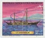 Sarimanok: 150-Franc (30-Ariary) Postage Stamp