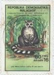 Front: Tsimbazaza: Lemur catta: 80-Franc (...