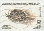 Harpa amouretta): 675-Franc (135-Ariary) Postage Stamp