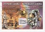 Universal Postal Union: 3,500-Franc (700-Ariary) Postage Stamp