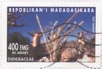 Didieracea: 400-Franc (80-Ariary) Postage Stamp
