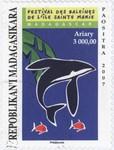 Ile Sainte Marie Whale Festival: 3,000-Ariary Postage Stamp