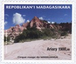 Cirque Rouge, Mahajanga: 1,900-Ariary Postage Stamp