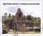 Jean Laborde's Blast Furnace: 1,600-Ariary Postage Stamp