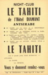 Night-club Le Tahiti de l'H?tel Diamant