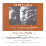 Front: Tany Mena Tours: Themed Tours