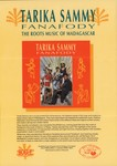 Front: Tarika Sammy: Fanafody: The Roots M...