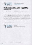 Front: Madagascar: CMA CGM dogged by rosew...