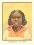 Front: Jeune Fille Antaisaka