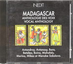 Madagascar Anthologie des Voix / Vocal Anthology