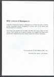 Back of Box: Lemurs of Madagascar