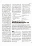 First Page: Biogeographic Evolution of Madagasc...
