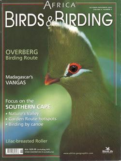 Africa – Birds & Birding: October/November 2004; Vol. 9, No. 5