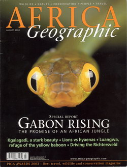 Africa Geographic: August 2004; Vol. 12, No. 7